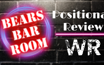 Bears Barroom Radio: Reviewing the Wide Receivers