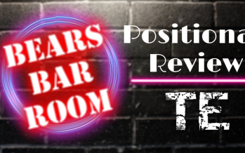 Bears Barroom Radio: Reviewing the Tight Ends