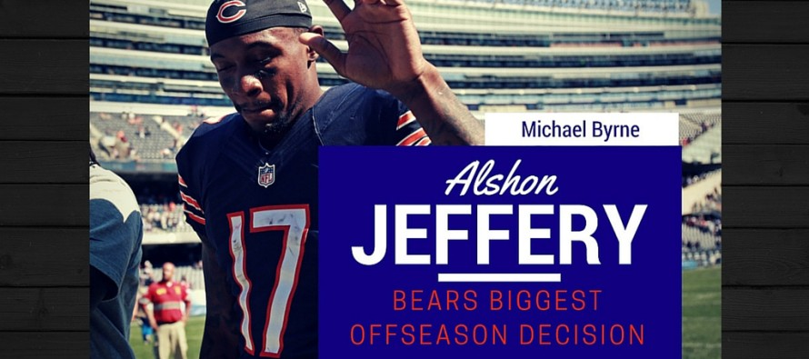 Alshon Jeffery: To Sign Or Not to Sign