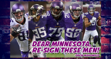 Five Must-Keep Free Agents for the Minnesota Vikings