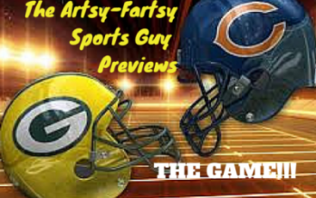Da Artsy Fartsy Sports Guy Previews THE Game