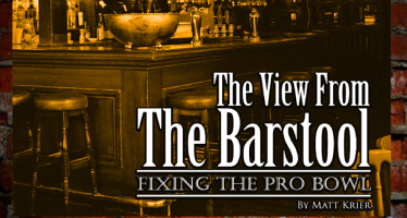 View from the Barstool: Fixing the Pro Bowl