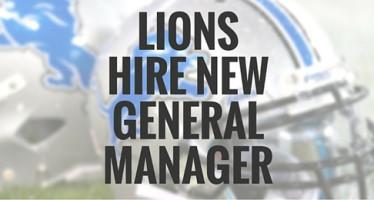 Bob Quinn is Detroit Lions New GM