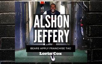 Bears Use Franchise Tag on Alshon Jeffery