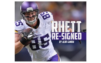 Minnesota Vikings Re-Sign Rhett Ellison