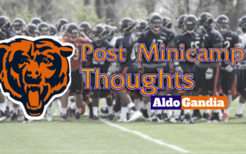 Five Thoughts On Chicago Bears Minicamp