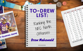To-Drew List: Ranking NFC North Offenses