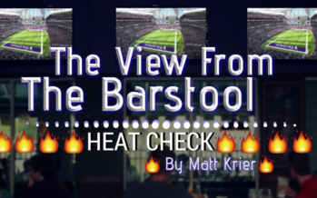 The View From The Barstool: Heat Check