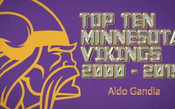 TOP TEN MINNESOTA VIKINGS : 2000 – 2015