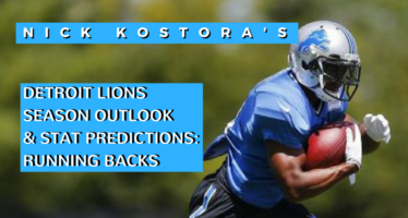 Detroit Lions Running Backs – Projecting 2016 Stats