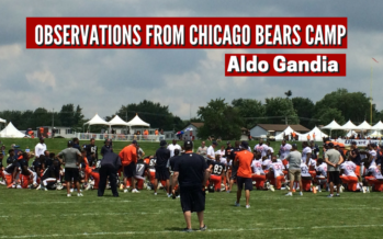Chicago Bears Training Camp Observations