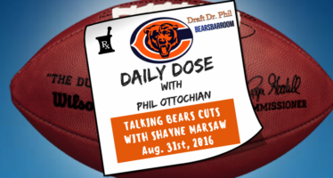Chicago Bears Daily Dose – Aug. 31, 2016 – Bears Cuts
