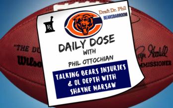Chicago Bears Daily Dose – Kyle Long Injury & OL Depth
