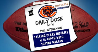 Chicago Bears Daily Dose – Kyle Long Injury & OL Depth