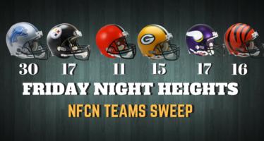 Detroit Lions, Minnesota Vikings, Green Bay Packers Win Preseason Openers