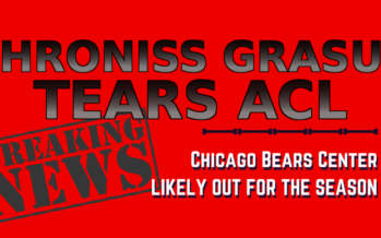 Bears Center Hroniss Grasu Likely Out For The Season