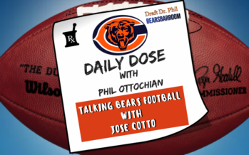 Chicago Bears Daily Dose – Football Talk with Jose Cotto