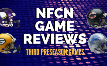 NFCN Games – After Three Preseason Games