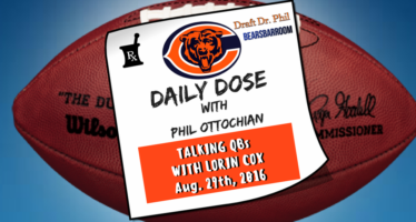 Chicago Bears Daily Dose – Bears QBs – Aug. 29, 2016