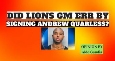 Lions Sign Andrew Quarless – Did GM Bob Quinn Err?