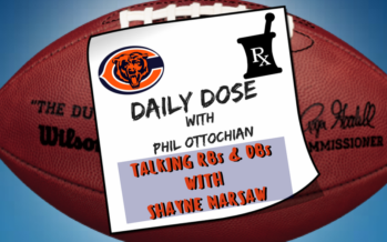 Chicago Bears Daily Dose – Talking Bears RBs & DBs
