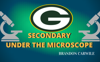Putting the Packers Secondary Under the Microscope
