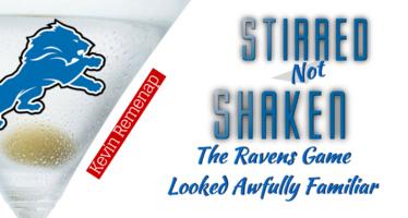 Detroit Lions – Stirred, Not Shaken: The S.O.L.