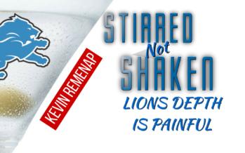 Ebron Injury Shows Lions Depth Chart Has No Depth