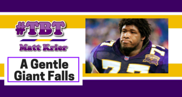 Vikings #TBT: Korey Stringer … A Gentle Giant Falls