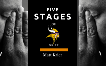 Vikings Fans and the Five Stages of Grief