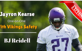 Vikings Training Camp: 'Terminator' Kearse Learning the Ropes