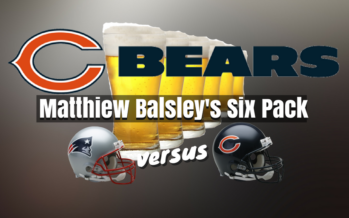 Drinking Points: Chicago Bears vs New England Patriots