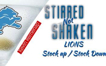 Detroit Lions Stock Watch