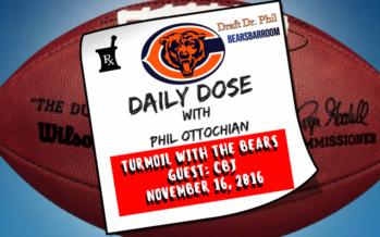Chicago Bears Daily Dose – 11/16/16 – Turmoil At Halas Hall