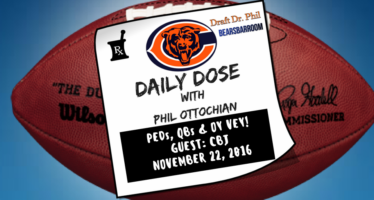 Chicago Bears Daily Dose – Talking PEDS, QBs and More