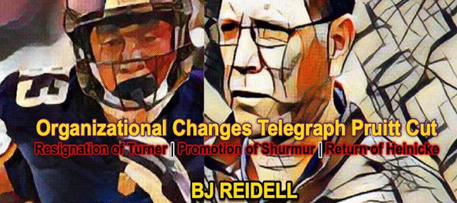 Vikings' Organizational Changes Telegraph Pruitt Cut