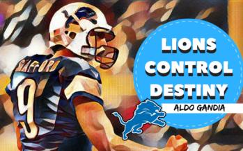 Detroit Lions Control Destiny