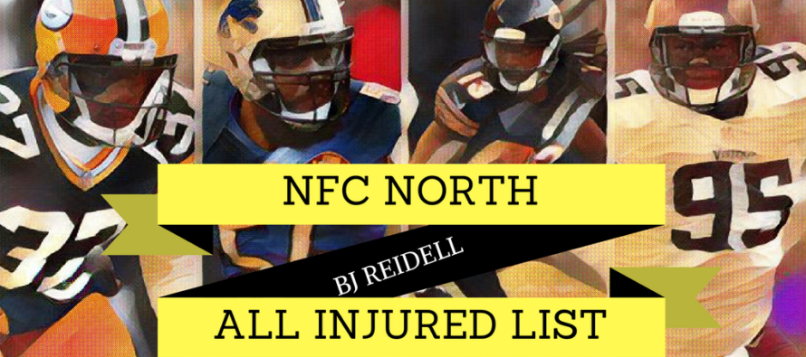 NFC North Division: The Always Injured List