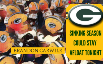 Packers Sinking Season Could Stay Afloat Tonight