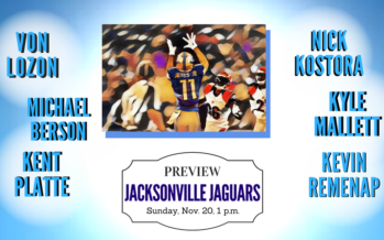 Detroit Lions vs Jacksonville Jaguars Week 11 Preview