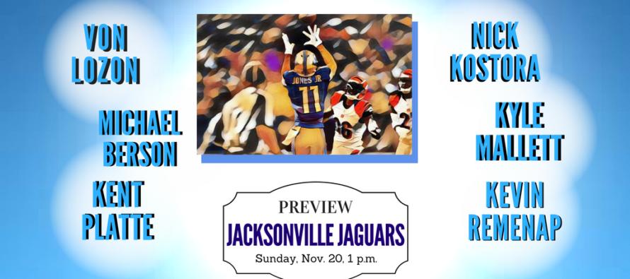 Detroit Lions vs Jacksonville Jaguars Week 11 Preview