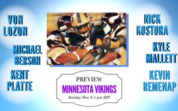 Detroit Lions vs Minnesota Vikings Week 9 Preview