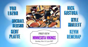 Detroit Lions vs Minnesota Vikings Week 9 Preview