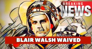 Minnesota Vikings Boot Kicker Blair Walsh