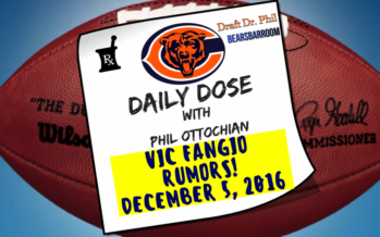 Chicago Bears Daily Dose – 12/7/16 – Vic Fangio Rumors