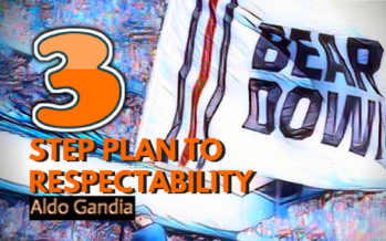 A Three-Point Plan To Respectability