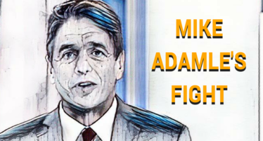 Mike Adamle Faces His Biggest Fight
