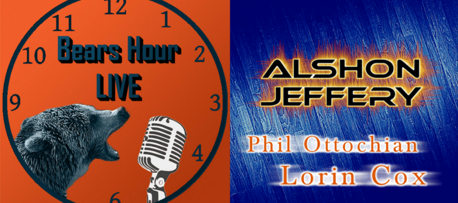 Bears Hour Live – Should Bears Re-Sign Alshon Jeffery