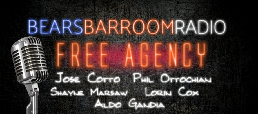 Bears Barroom Radio – Review of Free Agency