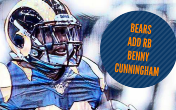 Bears Continue To Add Depth, Sign Benny Cunningham
